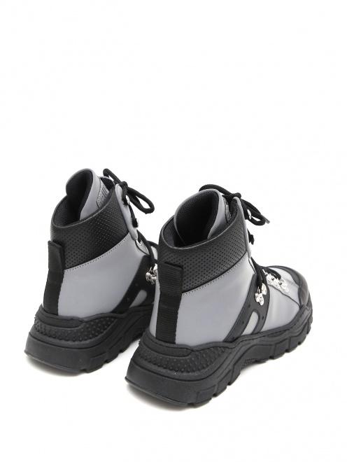 Ботинки на массивной подошве Gallucci - Обтравка2