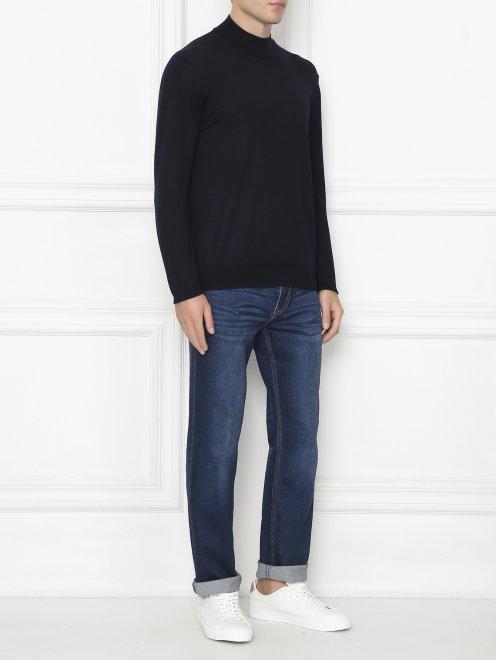 Джемпер из шерсти и шелка - Общий вид