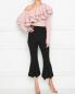 Блуза из хлопка  с воланом по горловине Keepsake  –  МодельОбщийВид