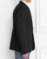 Пиджак однобортный из шерсти и шелка Jil Sander  –  Модель Верх-Низ2