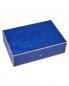 Шкатулка для украшений синяя из Мадрона Elie Bleu  –  Общий вид