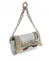 Кожаная сумка декорированная кристаллами и стразами Ermanno Scervino  –  Обтравка1