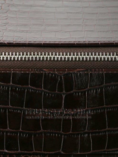 Прямоугольная косметичка на молнии Truefitt & Hill - Деталь